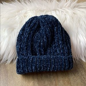 Accessories - Very Soft Chenille Cuffed Beanie Hat